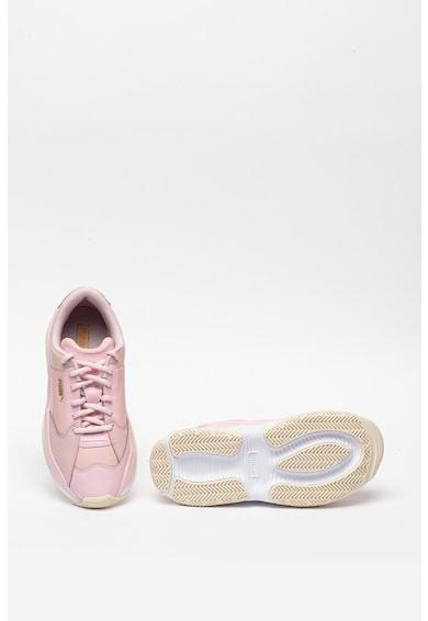 Puma Pantofi sport din piele si piele ecologica Storm Femei