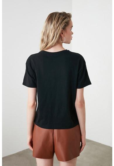 Trendyol Tricou cu imprimeu grafic Femei
