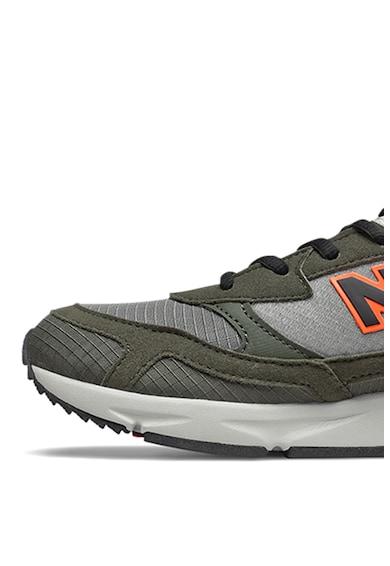 New Balance Pantofi sport cu garnituri de piele ecologica Fete