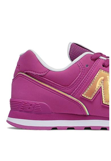 New Balance Pantofi sport cu insertii de plasa 574 Fete