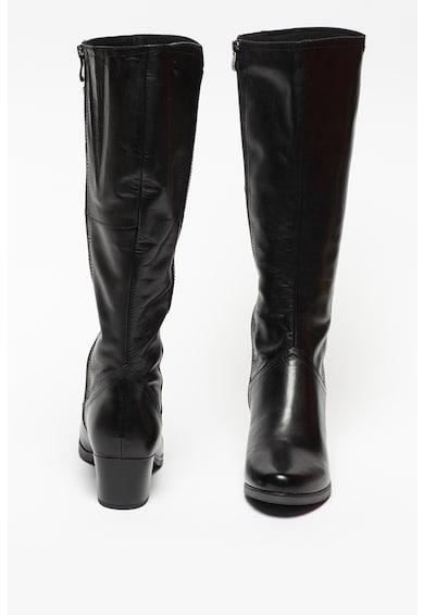 Caprice Cizme lungi pana la genunchi de piele cu toc inalt Femei