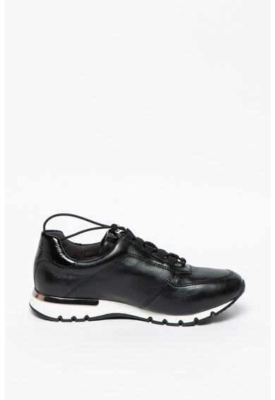 Caprice Pantofi sport din piele cu talpa wedge Femei