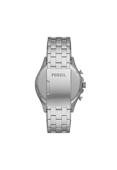 Fossil Ceas cronograf cu bratara metalica Forrester Barbati