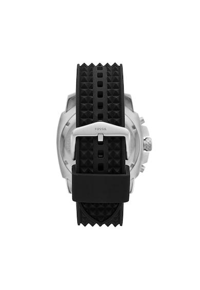 Fossil Ceas cronograf cu o curea de silicon cu tinte Mega Machine Barbati