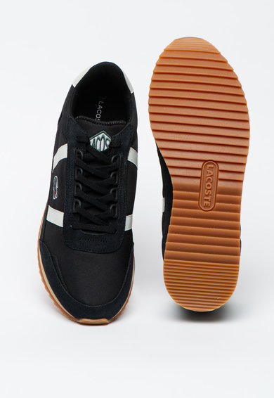 Lacoste Pantofi sport cu garnituri de piele intoarsa Partner Retro Barbati