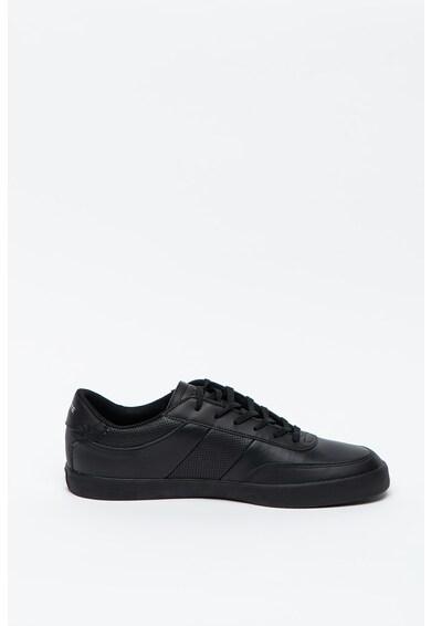 Lacoste Pantofi sport de piele si piele ecologica, cu logo Court-Master Barbati