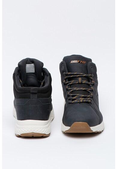 Lotto Pantofi sport mid-high de piele nabuc ecologica Nexus Barbati