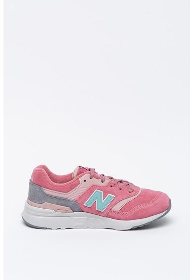New Balance Pantofi sport de piele intoarsa 997 Fete