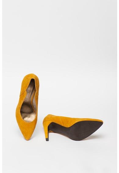 Marco Tozzi Pantofi stiletto de piele intoarsa cu varf ascutit Femei