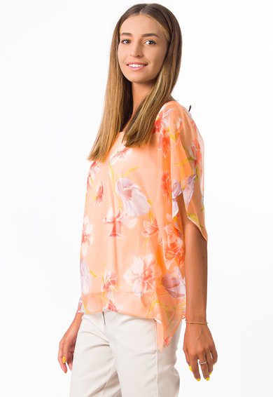 Sense Bluza de matase cu imprimeu floral Femei