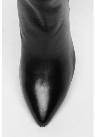 Tamaris Cizme lungi din piele cu toc masiv Femei