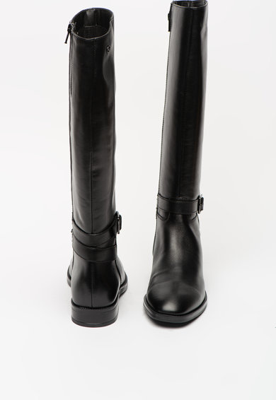Tamaris Cizme de piele, lungi pana la genunchi, cu banda cu catarama Femei