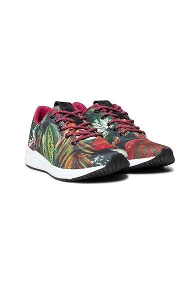 DESIGUAL Pantofi sport cu model tropical Femei