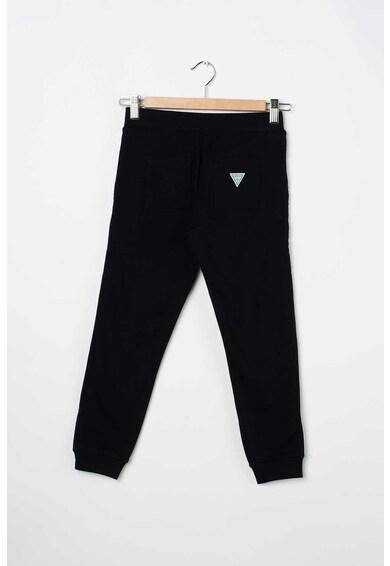 GUESS JEANS Pantaloni sport cu garnituri laterale cu logo Fete