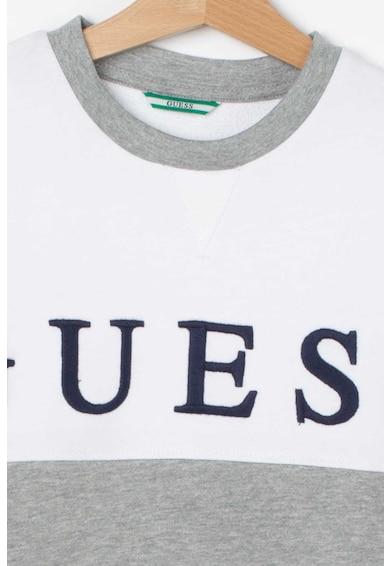 GUESS JEANS Bluza sport colorblock cu logo supradimensionat Baieti