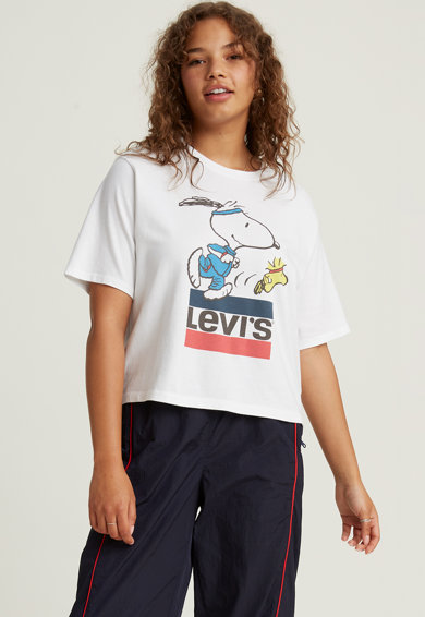 Levi's Tricou din bumbac cu imprimeu cu Snoopy Femei