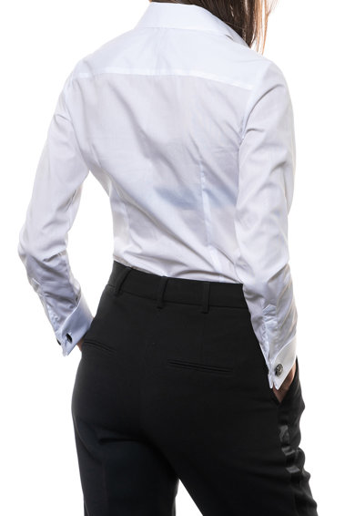 Minimalis Camasa din bumbac cu maneci lungi Femei
