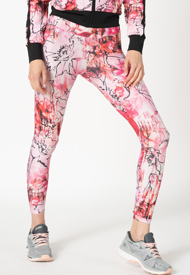 Guess Colanti cu model floral Active Femei