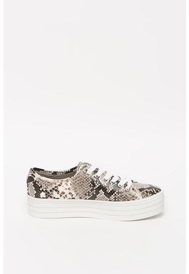 Guess Pantofi sport din piele ecologica cu aspect de piele de reptila Femei