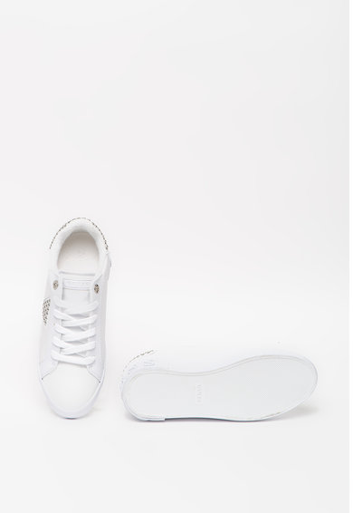Guess Pantofi sport din piele ecologica cu aplicatii cu nituri Femei