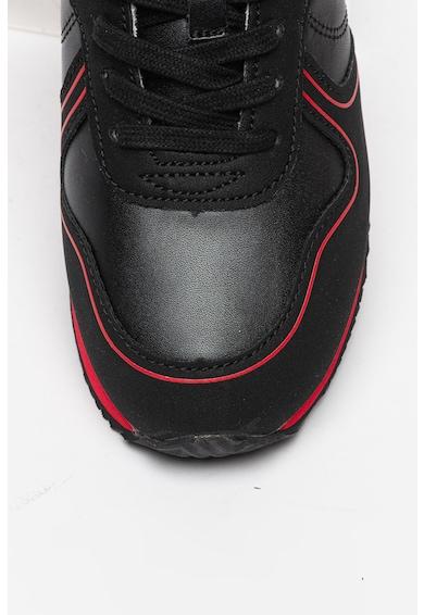 Guess Pantofi sport de piele ecologica Baieti