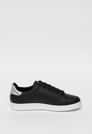 Emporio Armani Pantofi sport de piele, cu logo Femei