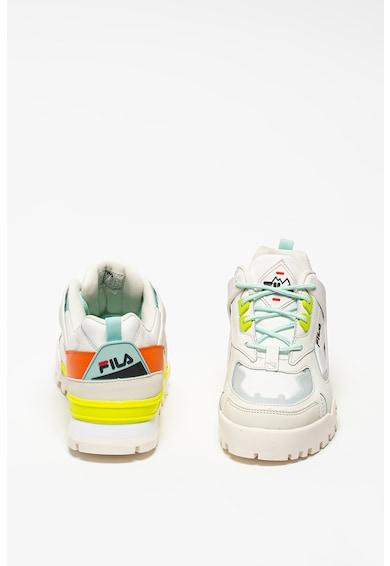 Fila Trailstep colorblock dizájnos sneaker bőrrészletekkel női