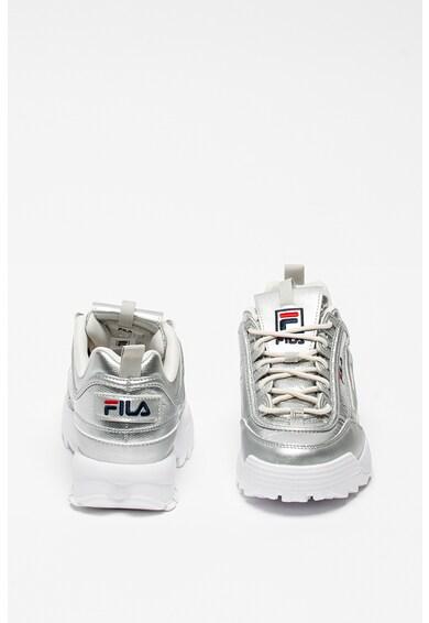 Fila Pantofi sport cu design masiv si aspect metalizat Disruptor Femei