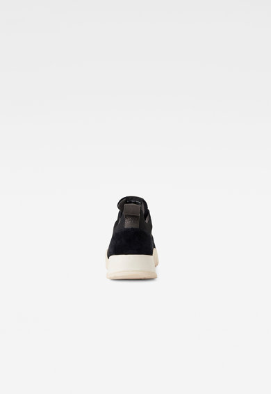 G-Star RAW Pantofi sport de piele intoarsa cu garnituri de plasa Rackam Mimemis Barbati