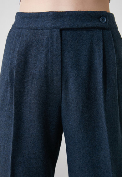 Trendyol Pantaloni crop cu talie inalta Femei
