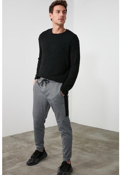 Trendyol Pantaloni sport cu segmente contrastante Barbati