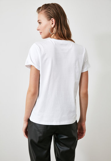 Trendyol Set de tricouri - 2 piese Femei