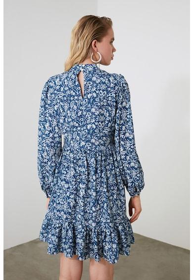 Trendyol Rochie evazata cu imprimeu floral Femei