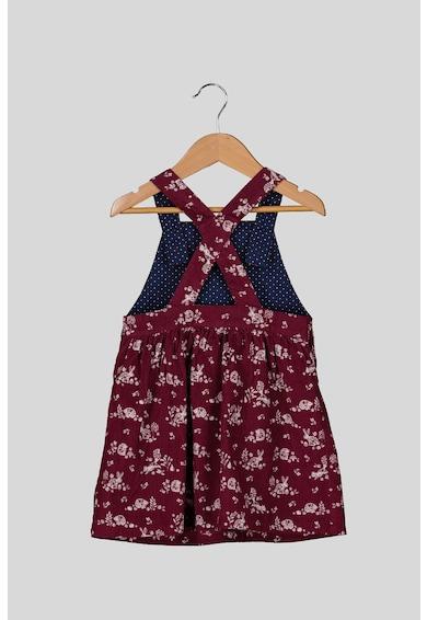 JoJo Maman Bebe Set de 2 piese cu bluza si rochie, fete, cu imprimeu, Multicolor Fete