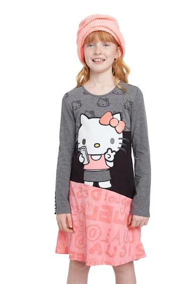 DESIGUAL Hello Kitty mintás ruha Lány