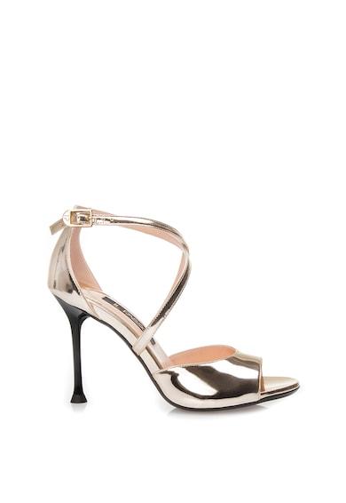 Il Passo Sandale stiletto de piele lacuita Paulina Femei
