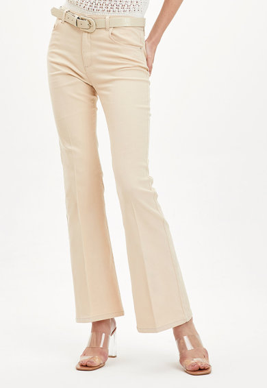 DeFacto Pantaloni evazati Femei