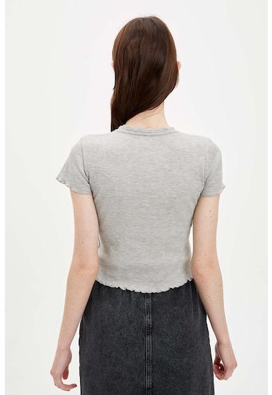DeFacto Tricou cu detaliu grafic Femei