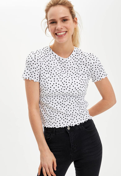 DeFacto Tricou cu buline Femei