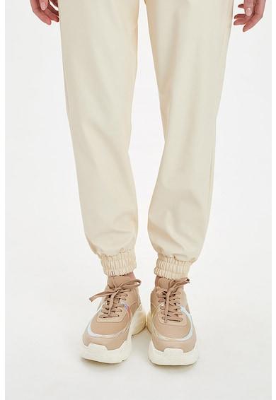 DeFacto Pantaloni cu banda elastic in talie Femei