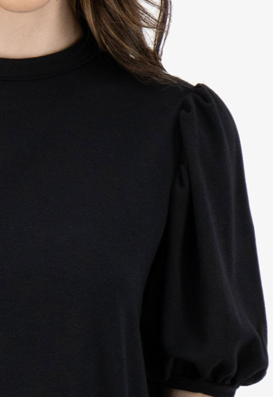 Missguided Rochie tip pulover, cu maneci bufante Femei