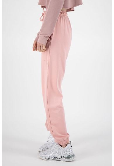 Missguided Pantaloni sport cu talie inalta si buzunare laterale Femei