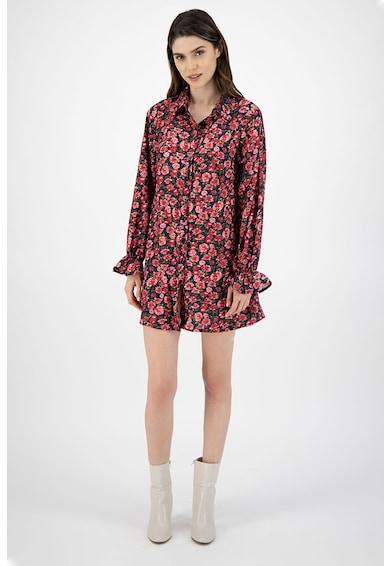 Missguided Rochie tip camasa, cu model floral Femei