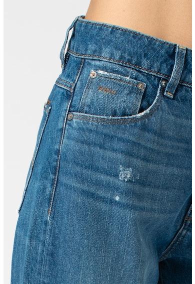 G-Star RAW 3301 straight fit magas derekú farmernadrág szaggatott részletekkel női