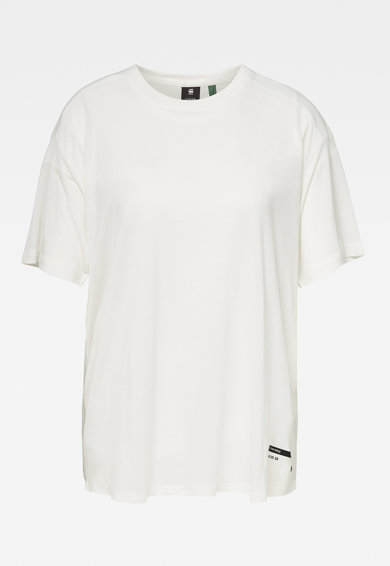 G-Star RAW Tricou din lyocell cu decolteu la baza gatului Femei