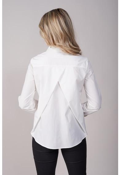 EMA\T Concept Camasa din bumbac cu model suprapus pe partea din spate Team Leader Delight Femei