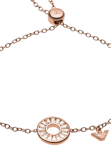 Emporio Armani Bratara din lant cu talisman circular Femei