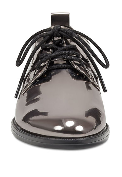 NINE WEST Pantofi derby de piele lacuita Henley Femei