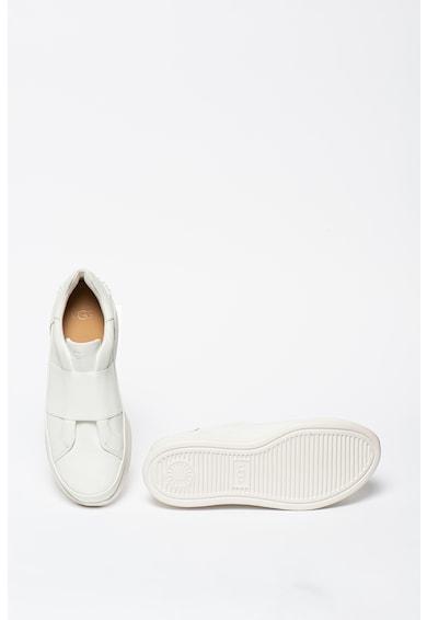 UGG Pantofi slip-on din piele cu bareta elastica Libu Femei