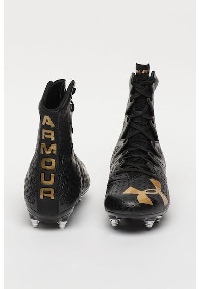 Under Armour Pantofi high-top de piele, pentru rugby Highlight Barbati